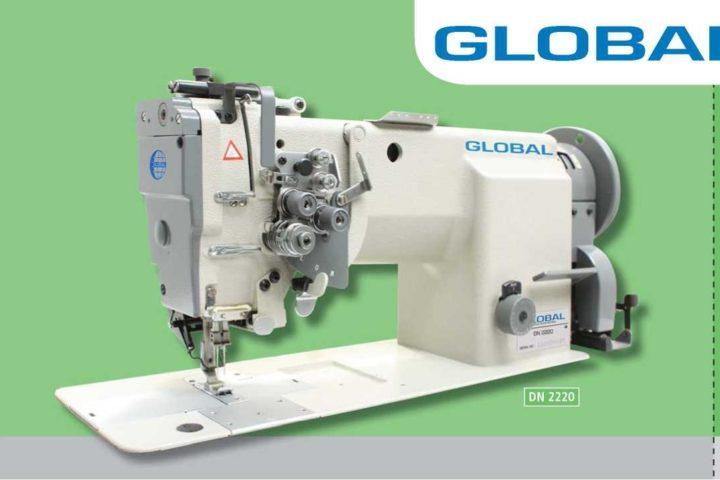 Двухигольные швейные машины Global